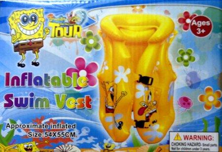 toko mainan online Swim Vest SPongebob XL (gr6mx)